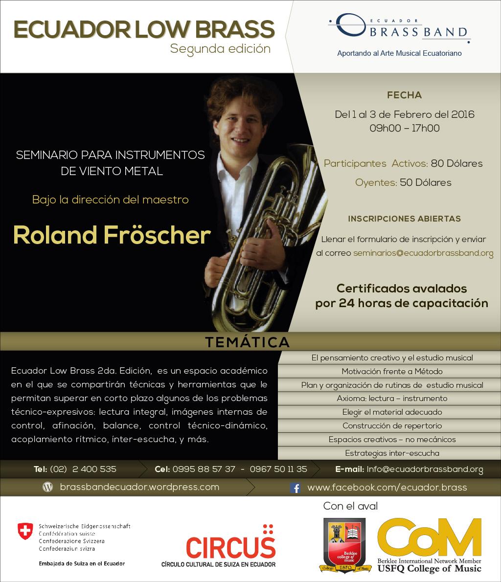 Ecuador Low Brass 2da Edición